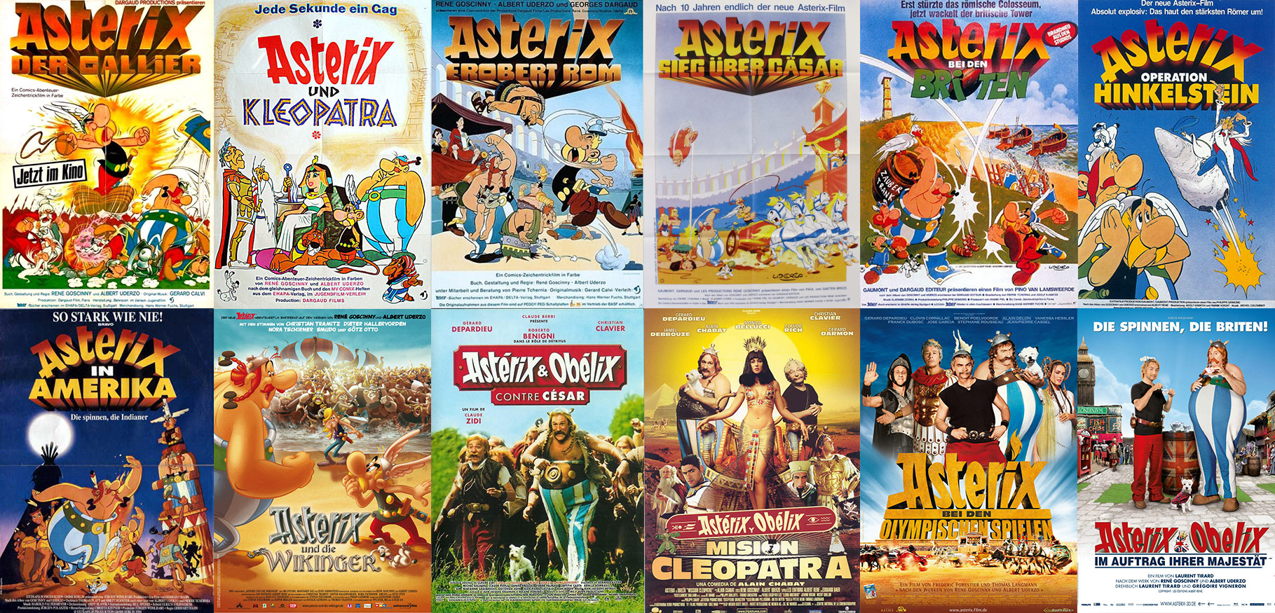 anfang asterix latein