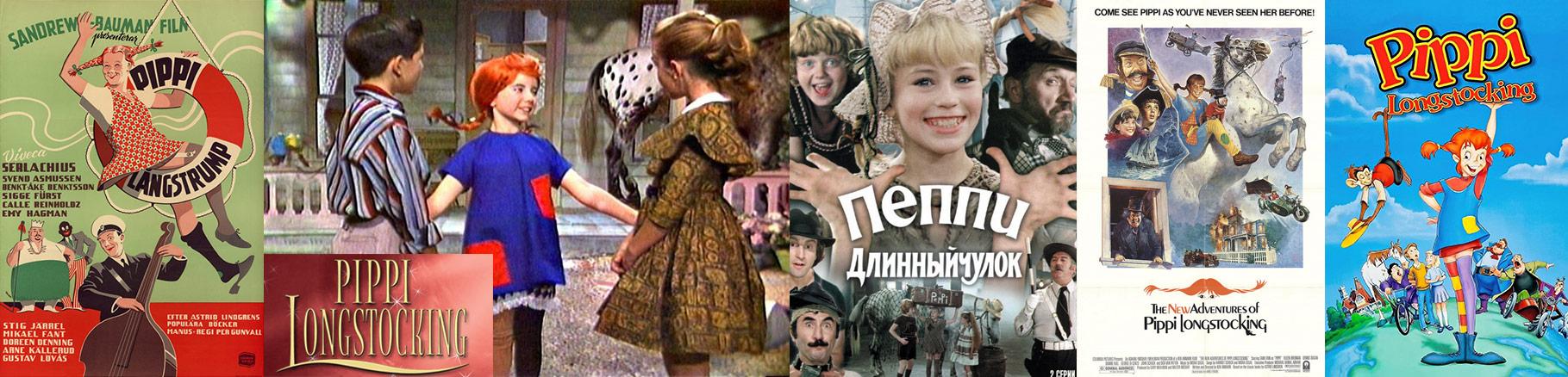Pippi Langstrumpf Verfilmungen